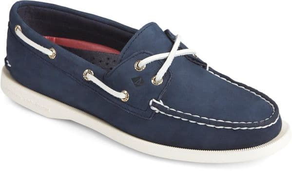 Sperry Authentic Original Lace Ladies Shoes Navy